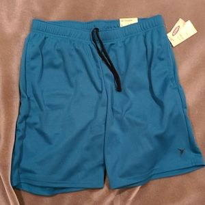 Old Navy active blue shorts